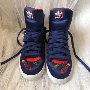 Adidas high top X Rita Ora Sneakers/Shoes size 6.5